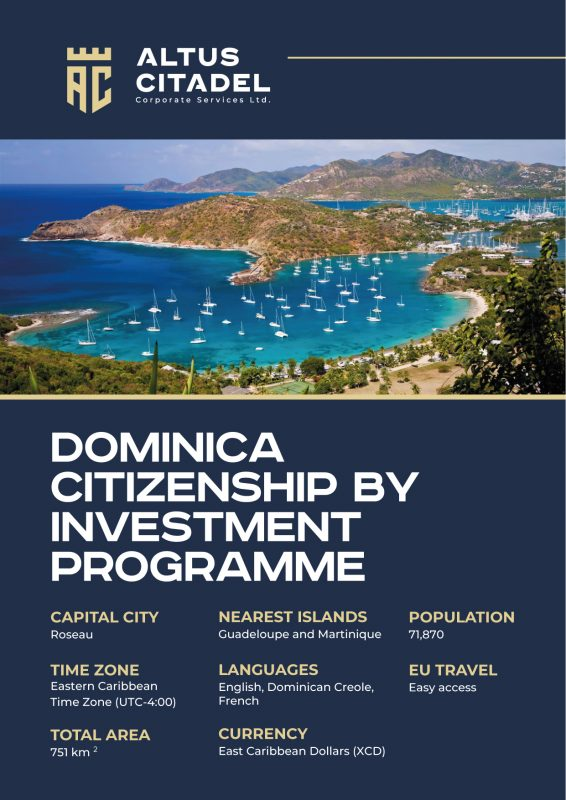 DOMINICA CITIZENSHIP BY INVESTMENT PROGRAMME